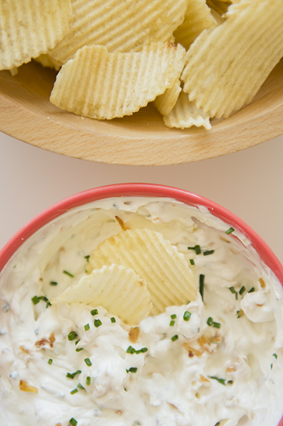 Caramelized Onion Dip - Chasing Saturdays
