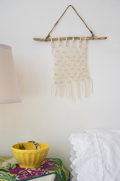 macrame wall hanging tutorial - chasing saturdays