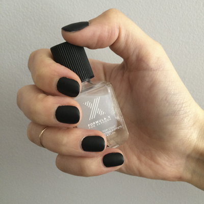 matte nail polish - chasing saturdays