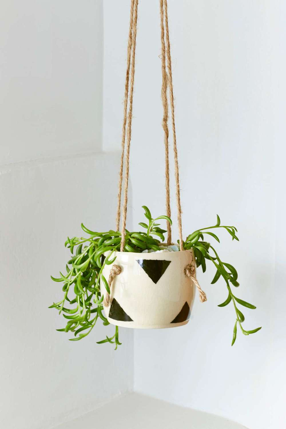 Small Spells Triangle Handmade Hanging Planter