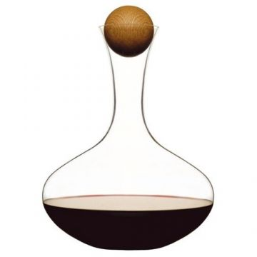 Sagaform Decanter with Oak Stopper