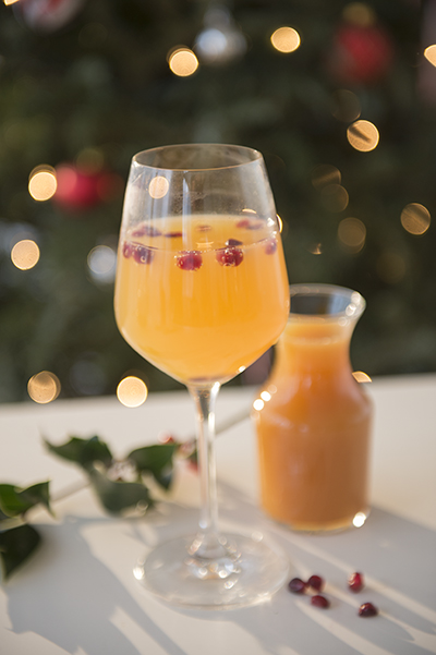 apple cider spritzer - mocktails to survive the holiday season pregnant - chasing saturdays