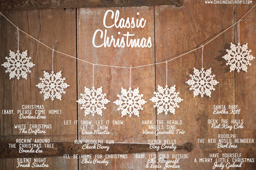 A classic Christmas playlist