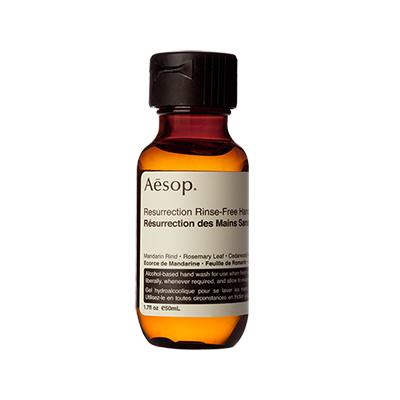 aesop resurrection rinse-free hand wash - chasing saturedays