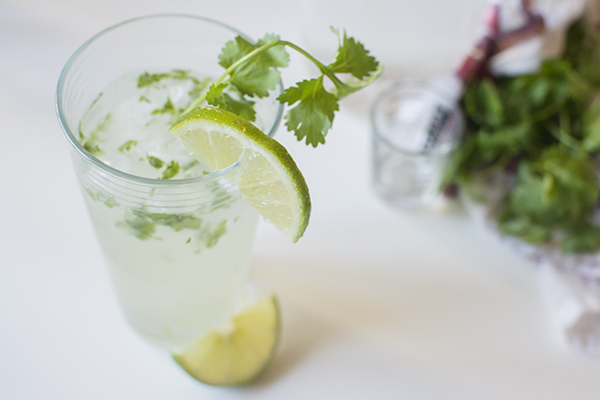 coconut cilantro cooler - chasing saturdays