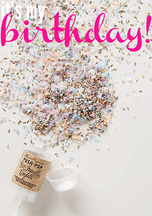 birthday wish list - chasing saturdays