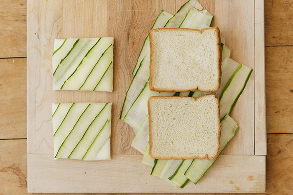 3 classic tea sandwiches - chasing saturdays