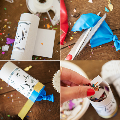 july fourth confetti poppers - chasing saturdays