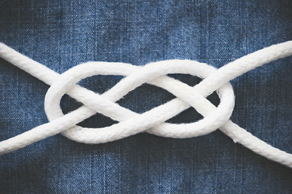sailor knot how-to - chasing saturdays