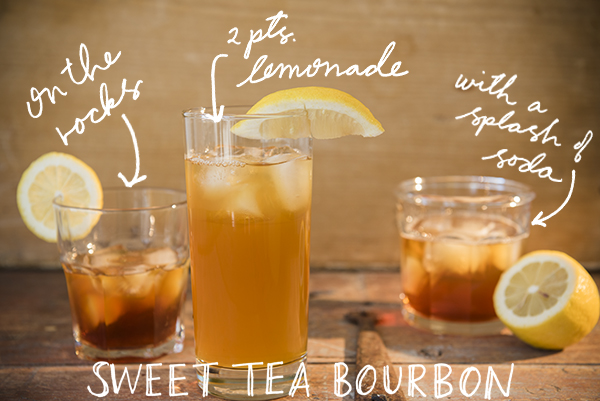 homemade sweet tea bourbon - chasing saturdays