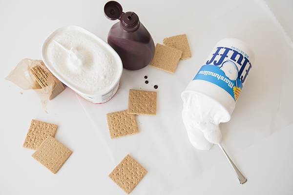 s'mores ice cream sandwiches - chasing saturdays