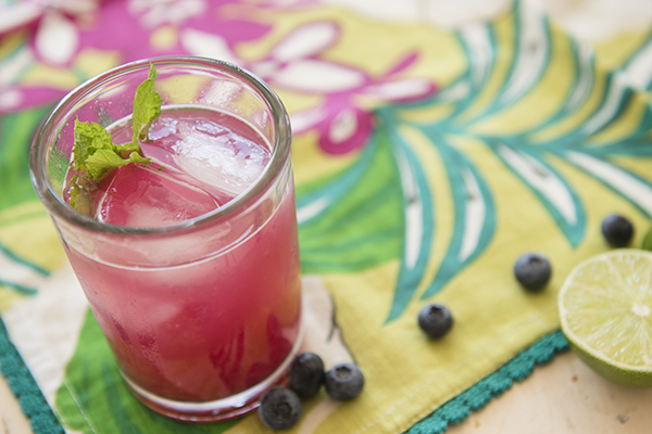 blueberry mojitos - chasing saturdays