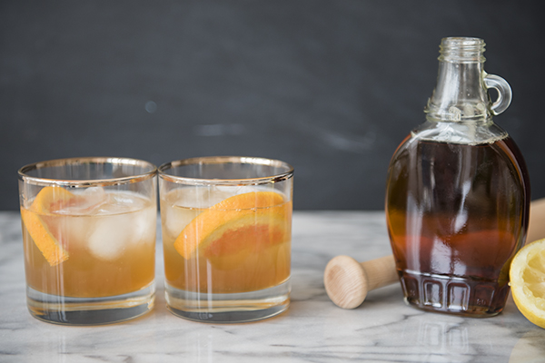 maple bourbon smash - chasing saturdays