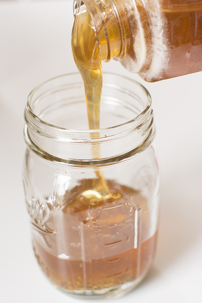 a trick for measuring honey - chasing saturdays