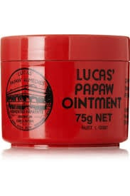 marisa's go-to winter beauty product - lucas' pawpaw ointment - chasing saturday