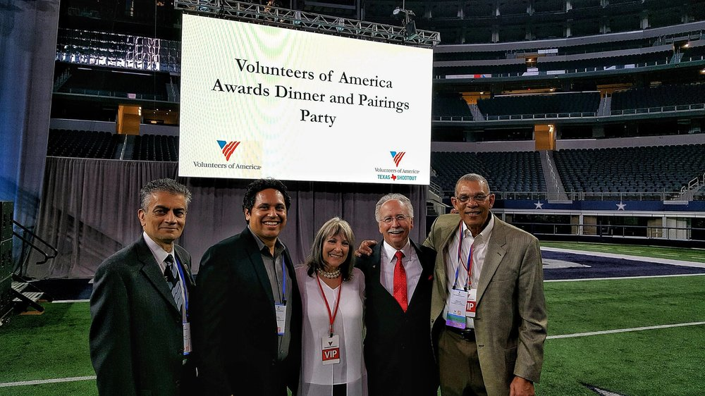Volunteers of America Awards Dinner and LPGA Pairings Party