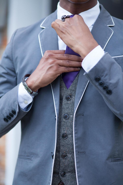 Tie: Express // WaistCoat/Vest: H&M