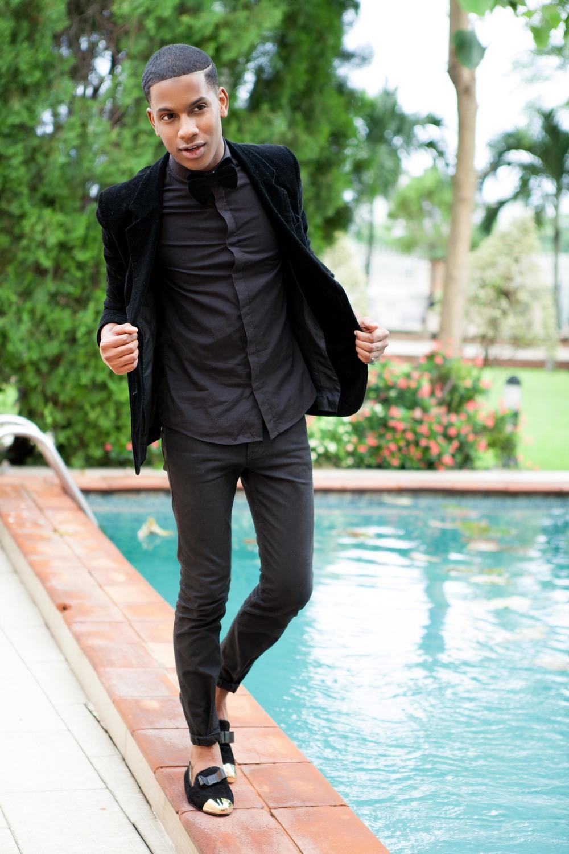 Pants: Levis 514 Jet Black Skinny