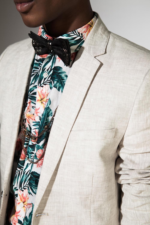 Shirt & Blazer- H&M // Necklace: Asos // Bowtie: Heritage
