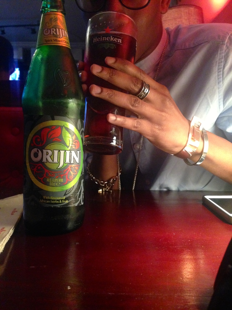 Orijin_ probably the most Hood drink I've had and I love IT!!