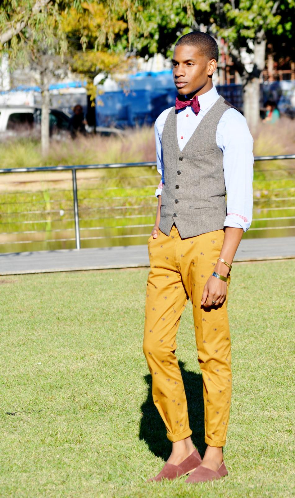Trousers: Markham