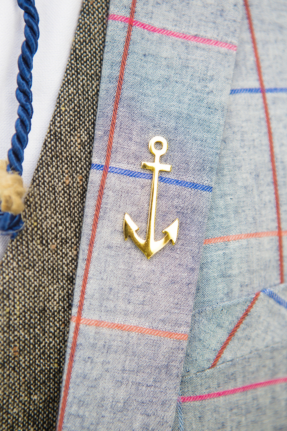 "Anchor Lapel Pin: Nigerian Accessories brand , ""Mr Adams"". Check out their IG ( @mradamsco)"