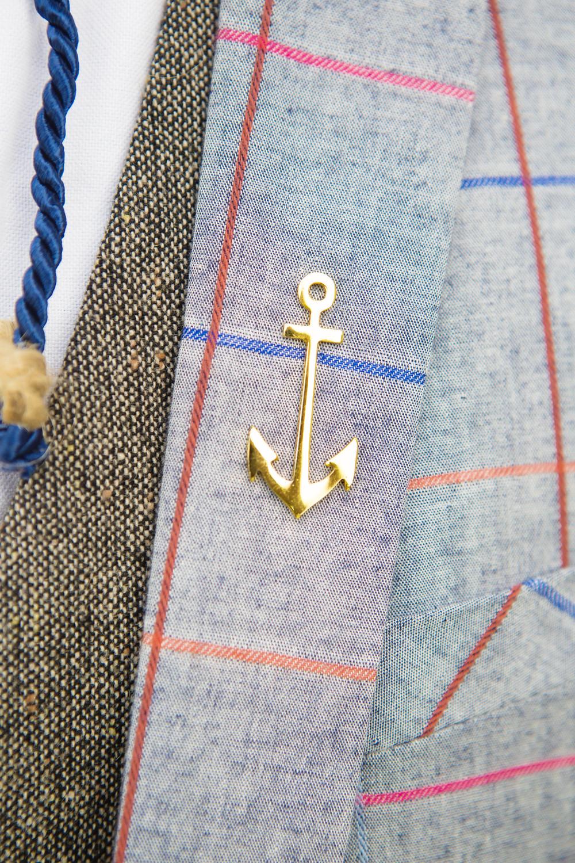 "Anchor Lapel Pin: Nigerian Accessories brand , ""Mr Adams"". Check out their IG ( @mradamsco)"