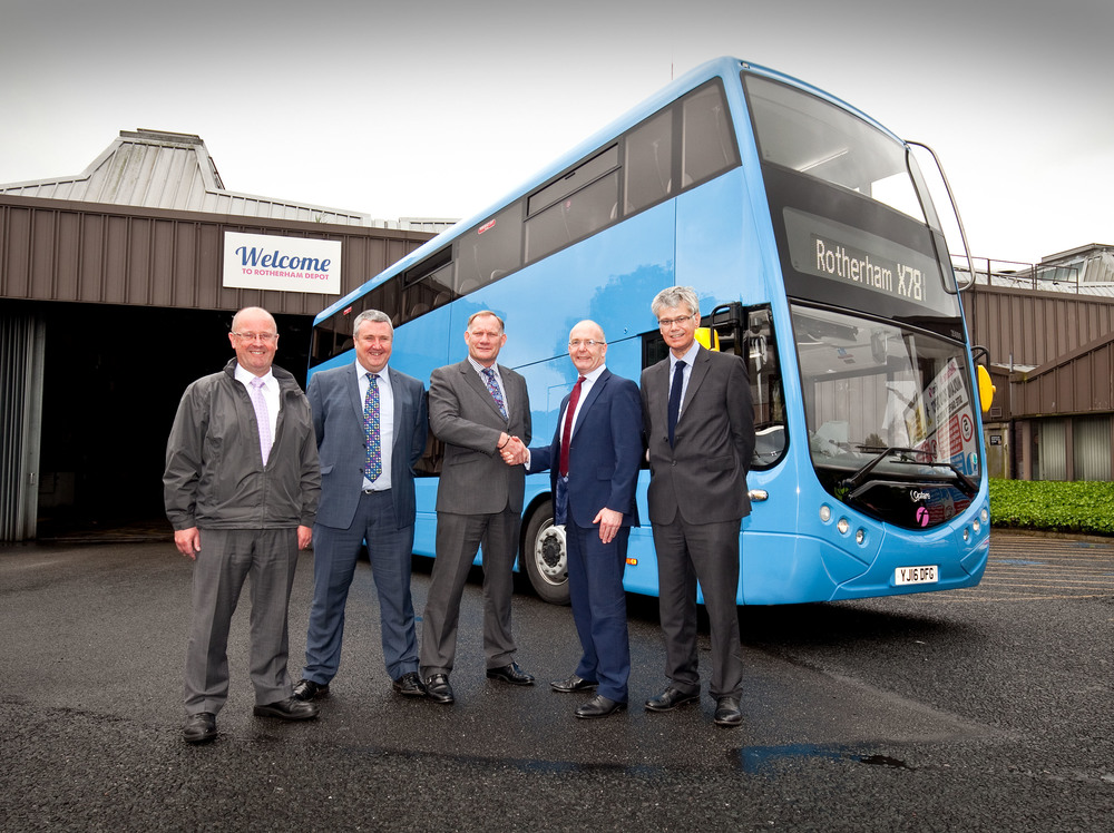 The X78 Route Is A Service Route Used By First Bus For Extensive Testing Of All The Major Bus Manufacturers Vehicles