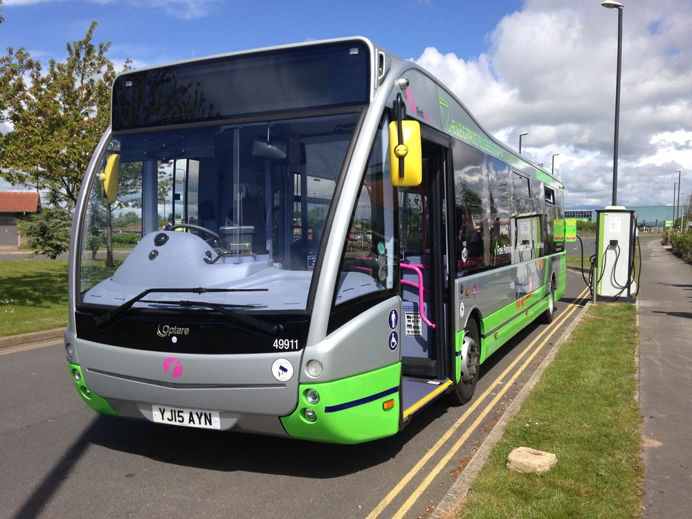 York Electric Park Ride Optare Buses Praised At Northern Awards