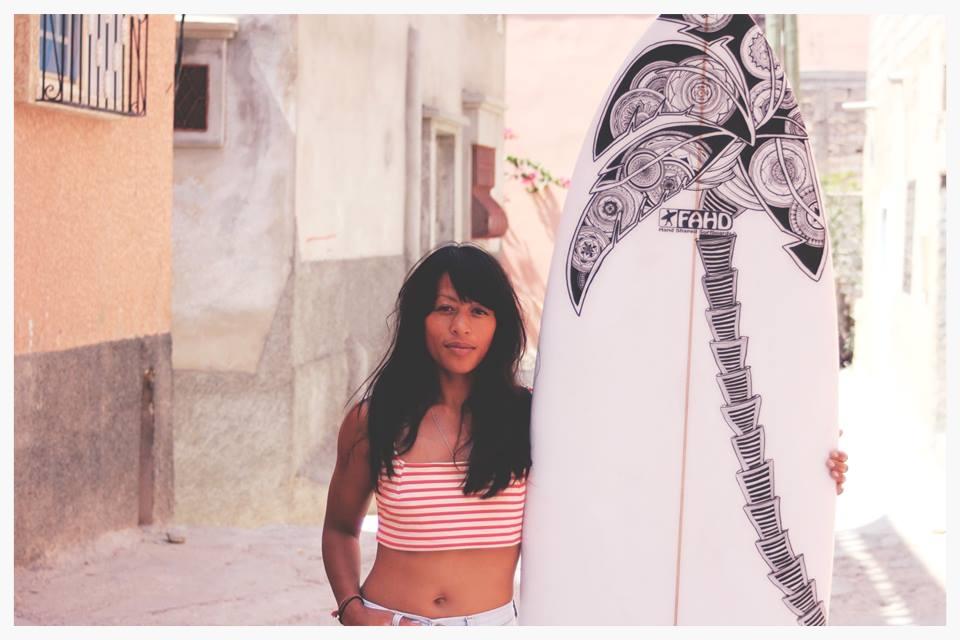 custom surfboard faho