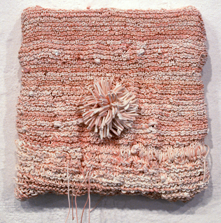 Hand Knit Painting Cozy