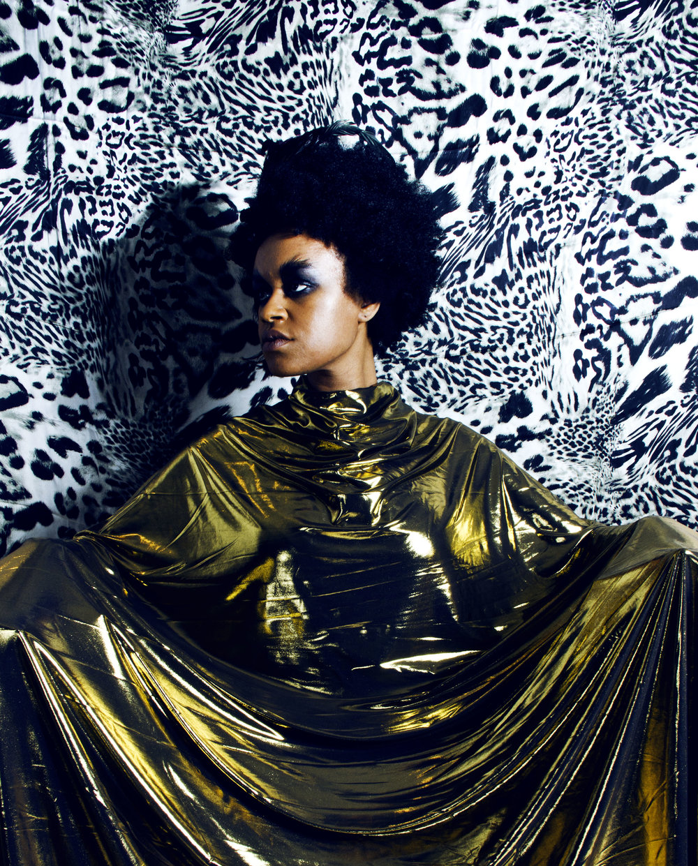 Photo by Ibra Acke. Art Direction by Wangechi Mutu