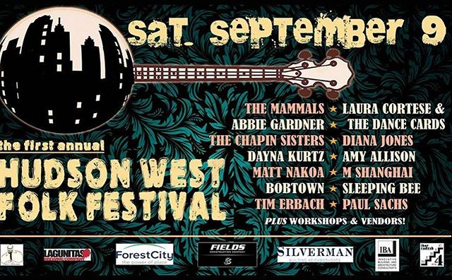 Coming soon! Get your tix now! http://www.hudsonwestfest.org