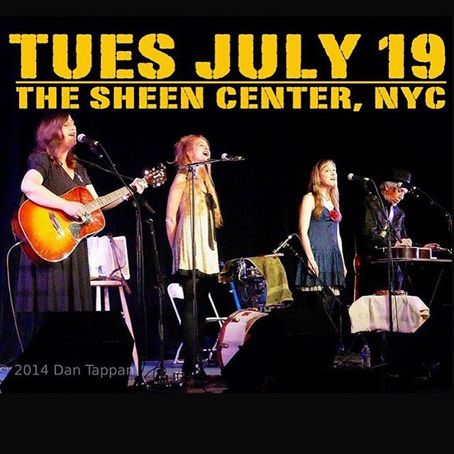 Join us for the inaugural Tender Mercies festival at the Sheen Center in Manhattan! We're also leading a vocal harmony workshop on 7/23. Go to sheencenter.org for details.