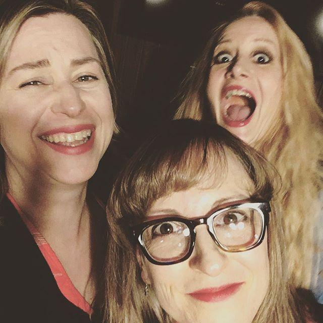 Pre-show selfie fail!