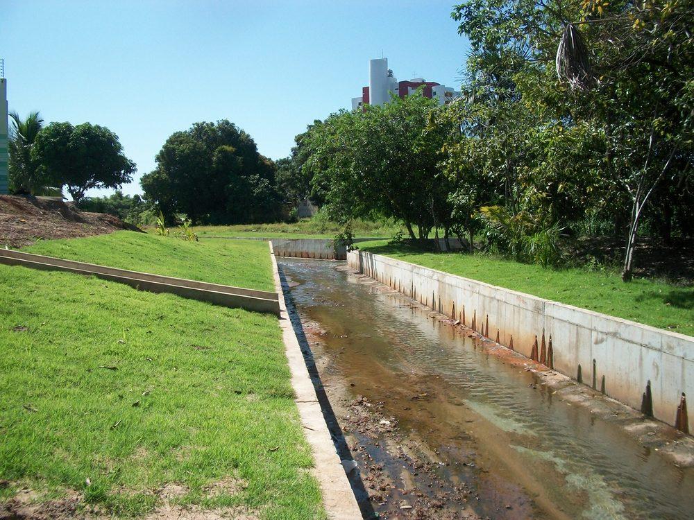 Canal Caxangá em Boa Vista - Roraima