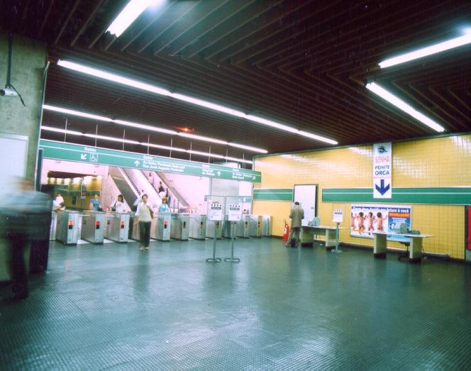 Estação de Metrô Sumaré - São Paulo