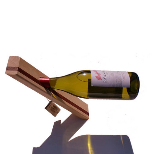 wine bottle holder holders metal sculpture uk carrier plans