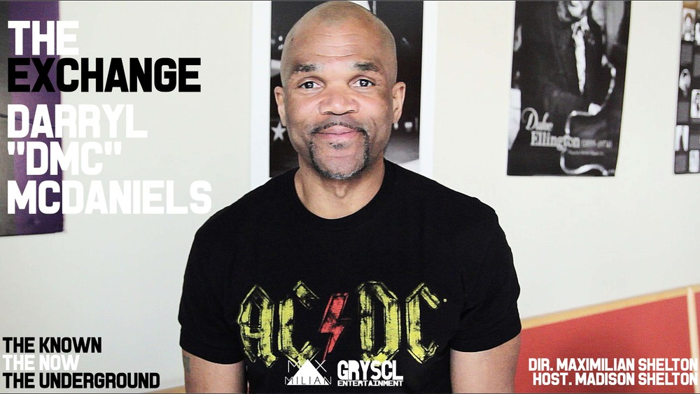 "Click Image above to view The Exchange: Darryl ""D.M.C."" McDaniels  Dir: Maximilian Shelton Interviewer: Madison Shelton/ Troy Shelton"