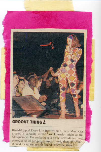 Masquerade Atlanta, 1990? Clipping from Creative Loafing newspaper. Yes that's exactly where it's from. thanks for posting this Devil Eyes……I remember that night!!- lady kier www.ladykier.com