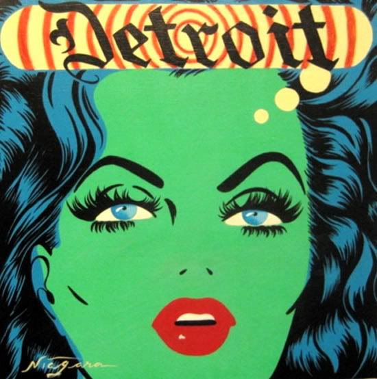 I have always loved the pop artist Niagara from Detroit. - www.ladykier.com this image posted from irisneverever