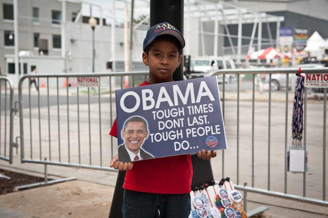 """tough times don't last .Tough people do. Obama 2012-www.ladykier.com"
