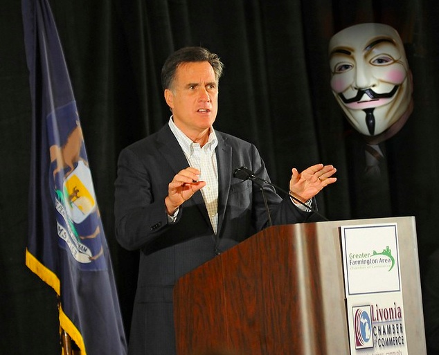 "EXPOSED:  In 2008 Mitt Romney earned $23,425,316 and paid $412.18 in federal income taxes. This calculates to a federal tax rate of 0.0018%""             http://www.freewoodpost.com/2012/07/28/anonymous-hacks-irs-database-publishes-romney-tax-returns/"
