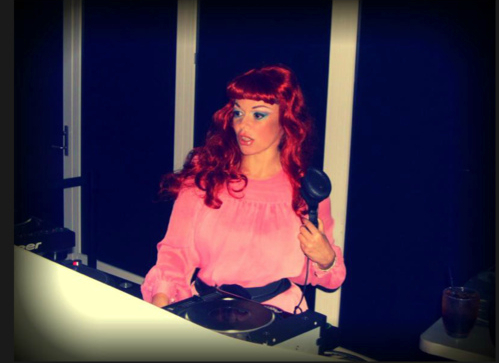"2011.tearing up nyc-"" I'm mixing my trax back here in the booth ,but the whole time I am watching you..it's me and my records..we came to play"" from the song ""Lady Deejay"" .written by : lady miss kier..www.ladykier.com http://www.mixcloud.com/ladykier/  https://www.facebook.com/pages/miss-Lady-Kier/296808489716?fref=ts photo by : Dennis Kraus    I have video footage of this event singing a deeelite tribute ..editors welcome to send me their reels. ladykier@mac.com"