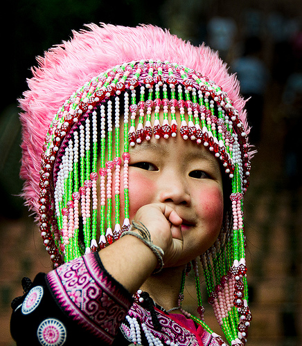 little princess Hill tribe girl (by dazza17 - DJ) from chictocheek