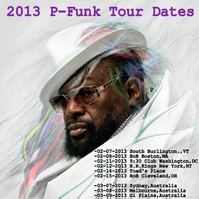 p-funk east coast dates