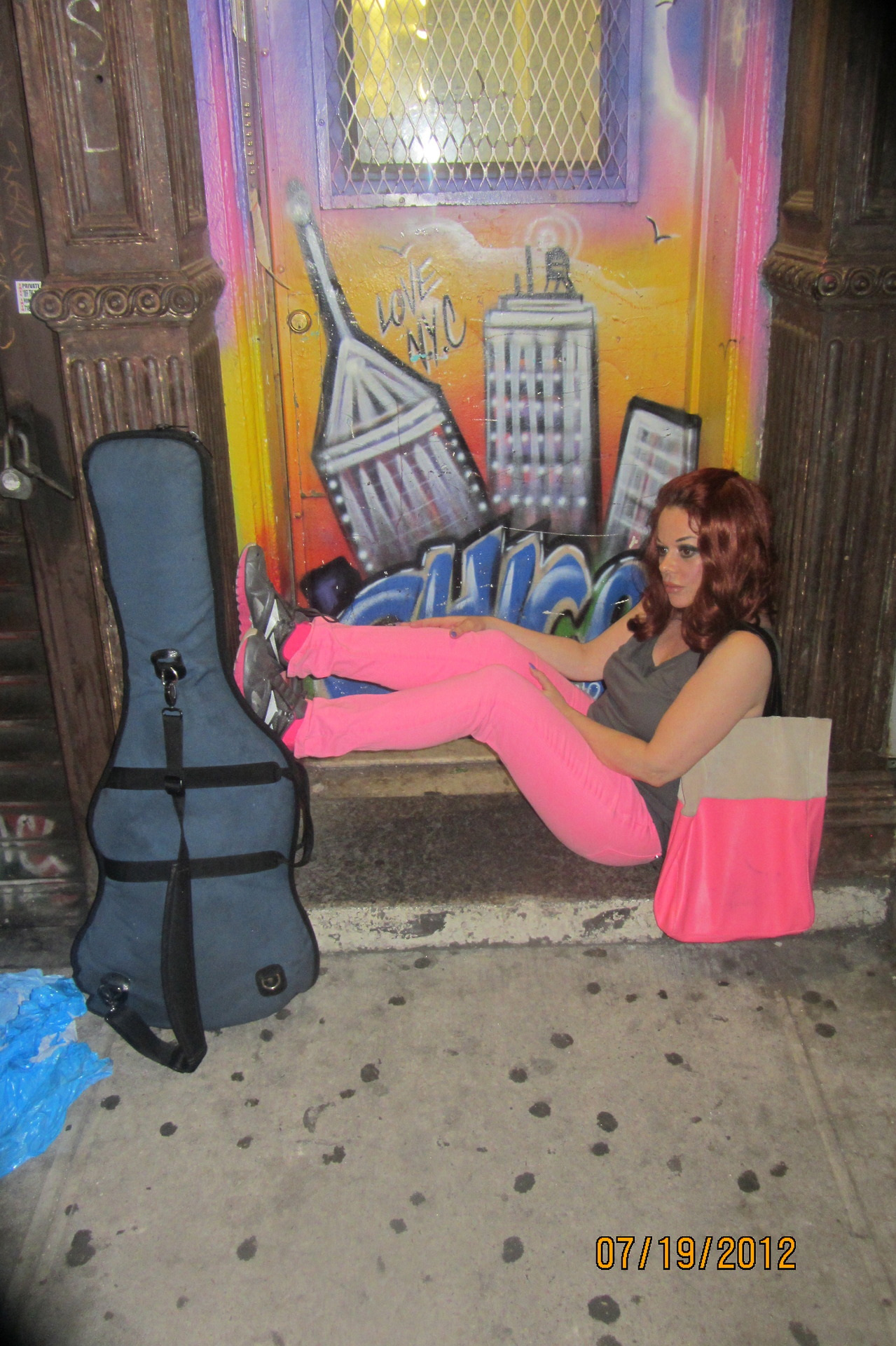 I love NY! and look at all the gum on the ground!!! ..lady miss kier ..www.ladykier.com http://www.mixcloud.com/ladykier/  https://www.facebook.com/pages/miss-Lady-Kier/296808489716?fref=ts