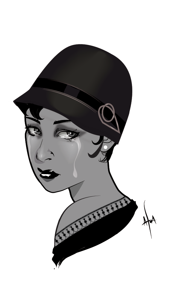 afuasketch :       Tears for St Louis |  Josephine Baker refused to perform for segregated audiences
