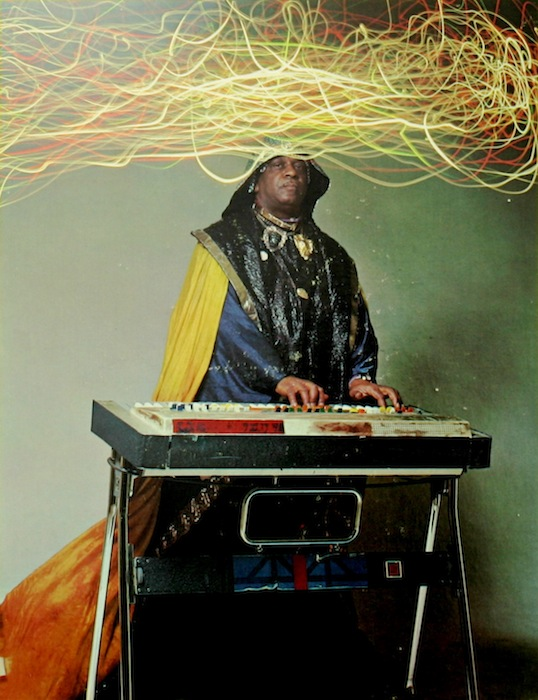 Sun Ra ! the official brother from another planet! dont believe me  ? check his passport. somebody post it please….the archestra perhaps. it's Black history month and this man brought the world to outer and inner space.  photo posted by  fireshovel: pizzzatime:-Lady Miss kier…www.ladykier.com