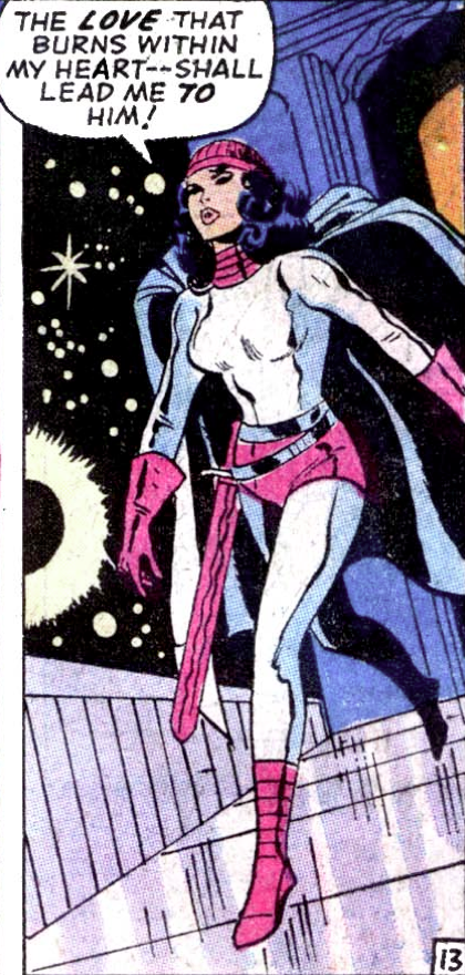 superdames: Love guides Sif on. 'Tis Sif Sunday! —Thor #178 (1970) by Stan Lee & John Buscema, inked by Vince Colletta